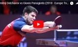 オフチャロフVSギオニス ヨーロッパトップ16