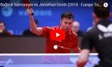サムソノフVSグロス(3位決定)ヨーロッパトップ16