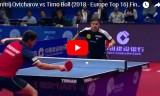 ティモボルVSオフチャロフ(決勝)ヨーロッパトップ16