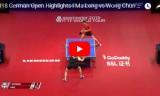 馬龍VS黄鎮廷(準決勝)ドイツオープン2018
