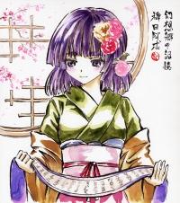 墨彩画 阿求 桜1200px