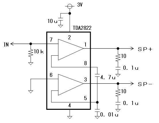 RF+IRチェッカーの製作回路図処理部2