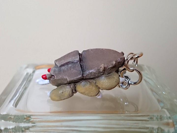 円盤生物 ブラックドーム 恐怖の円盤生物キーホルダー! キャスト1