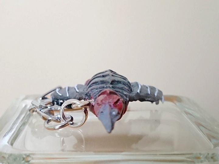 円盤生物 サタンモア 恐怖の円盤生物キーホルダー! キャスト0