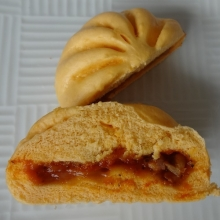 北海道産小麦のもっちりピザまん