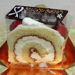 ロールケーキです