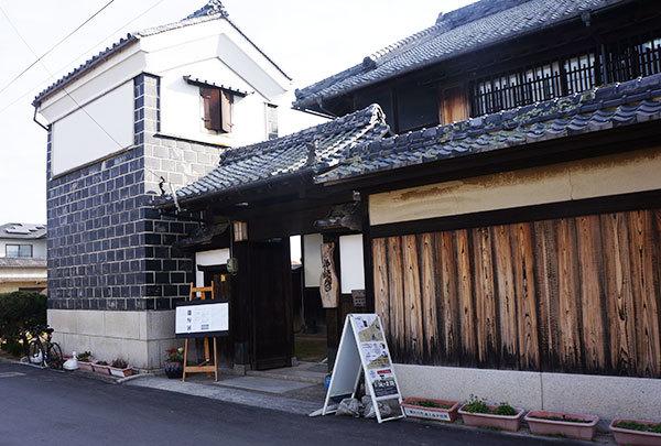 築100年以上の名家・仲崎邸 入り口付近の様子