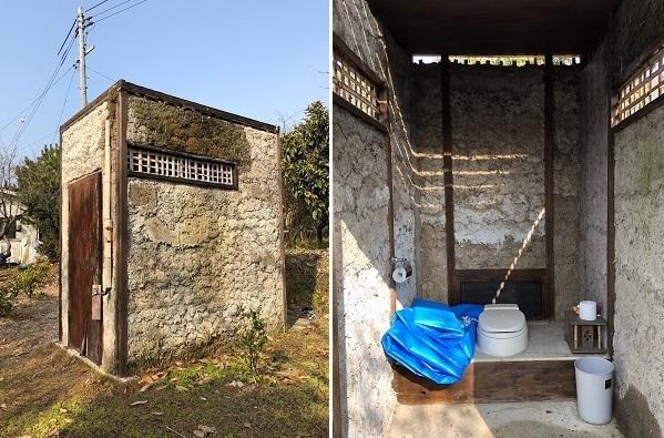 新年早々、トイレのお手入れ…雨漏りの状況確認