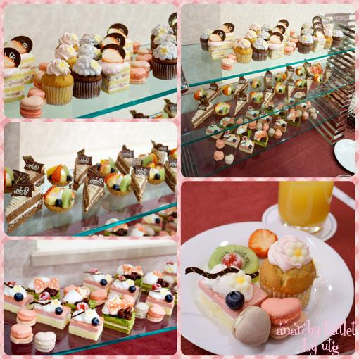 ケーキたち。