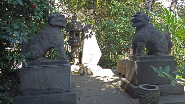 御田八幡古跡碑