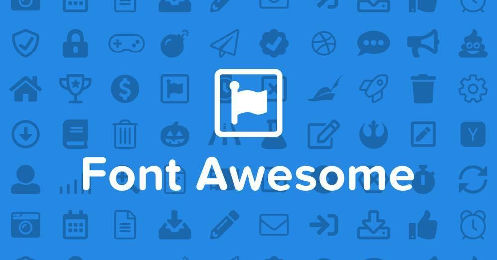 Font Awesome5へのアップグレードについて
