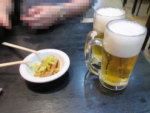 生ビール290円(税抜き)だってさ!@@
