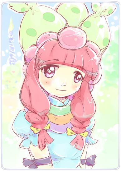 20180329ドラえもんズーハニー姫(落書き)(日記用500)