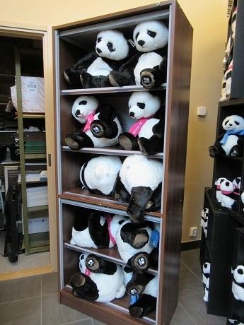 パンダのぬいぐるみ2