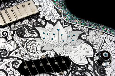 螺鈿ギター07