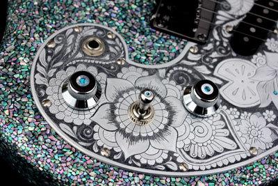 螺鈿ギター08
