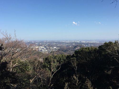 都心方面の景観
