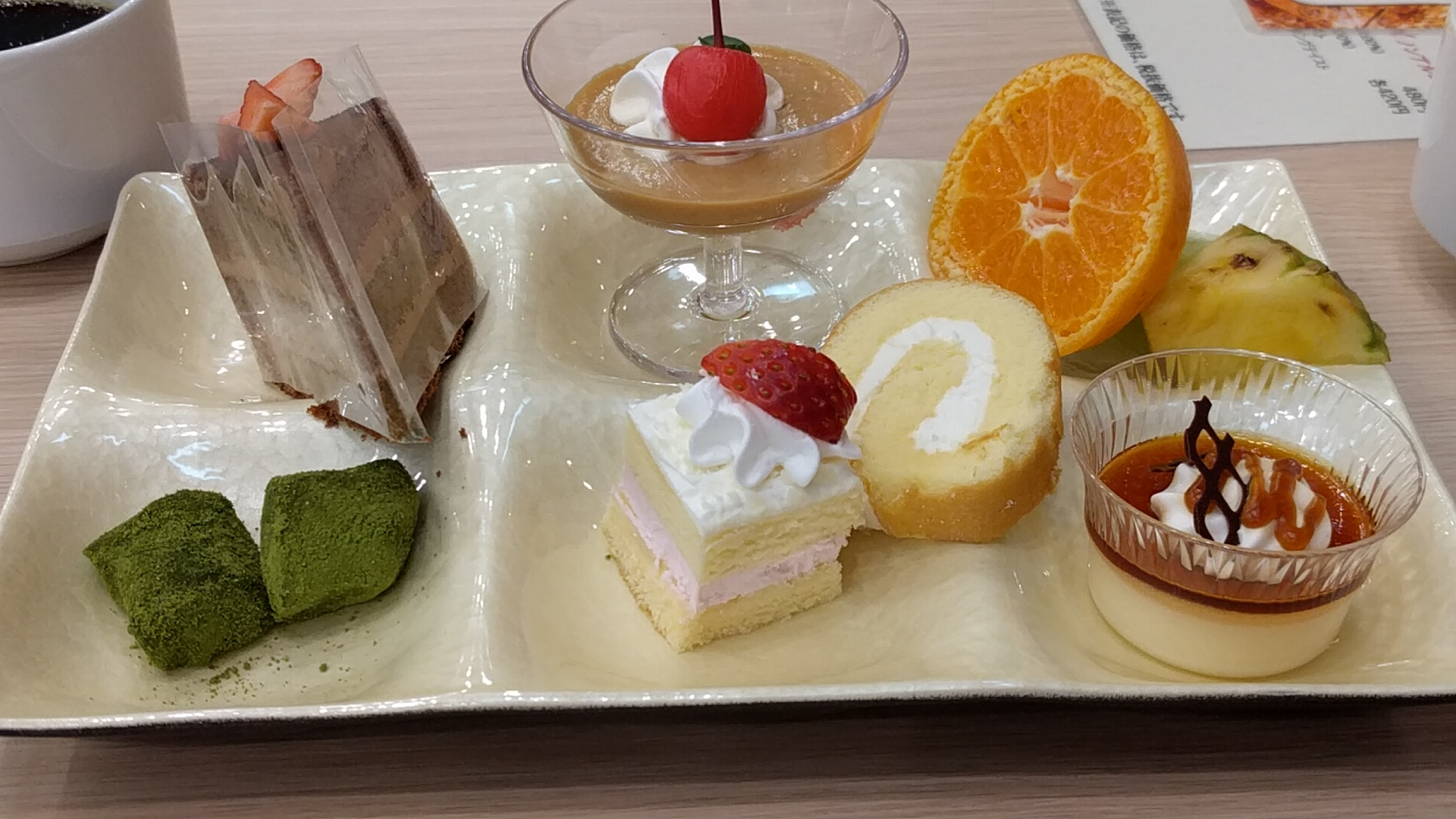 熱海の夕食デザート