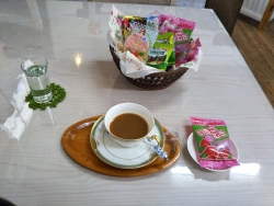 Cafe kokoroでコーヒー20180226