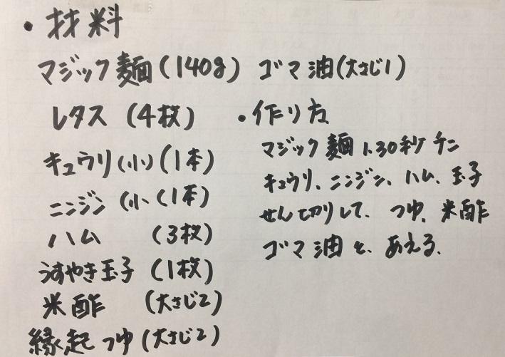 生姜もろみソテー(レシピ)