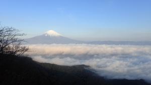 猪鼻峠からの富士山