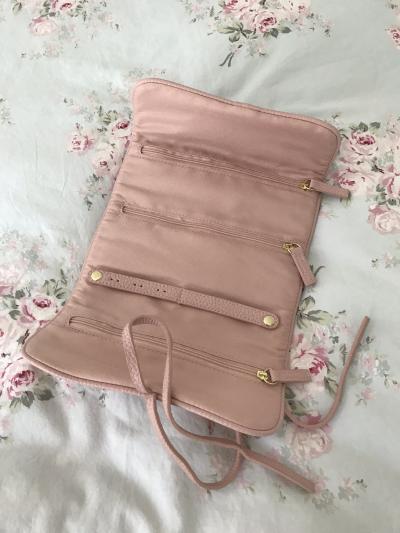 Pink Jewelry Case