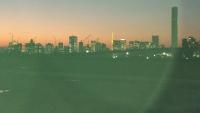 豊洲市場夕景