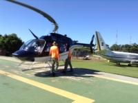 南米ヘリコプター