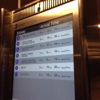 NYC時刻表