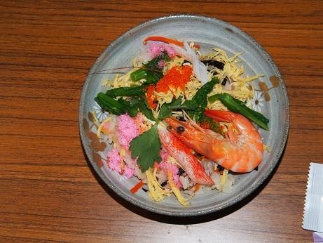 P1010183 料理2ちらし寿司