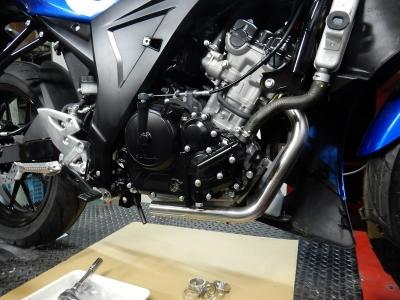 GSX-R150マフラー開発 (3)