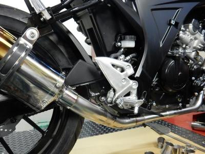 GSX-R150マフラー開発 (6)