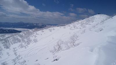 藻琴山(南斜面)