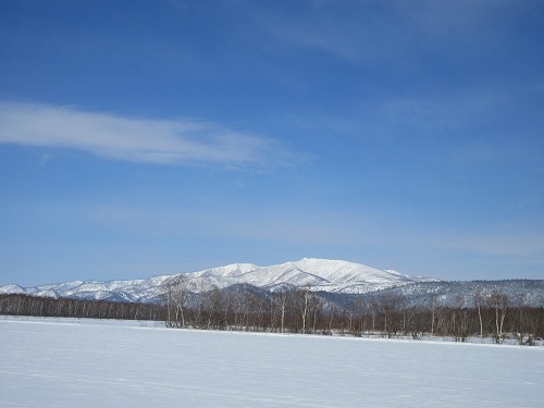 藻琴山(3月)1