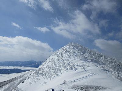 藻琴山頂上(3月)