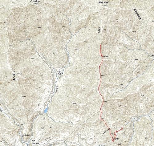 180221阿能川岳軌跡a