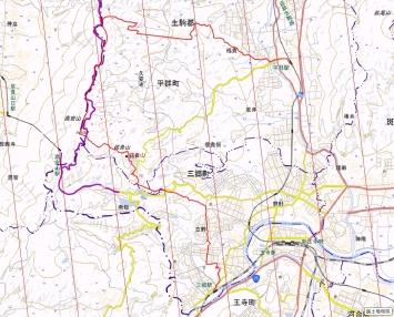 桃源郷と信貴山