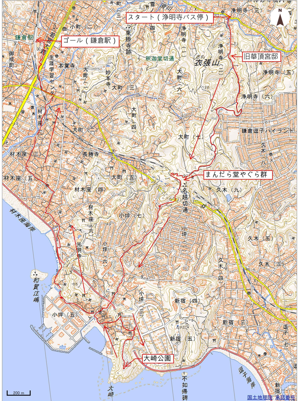 登山地図印刷A4縦 _02