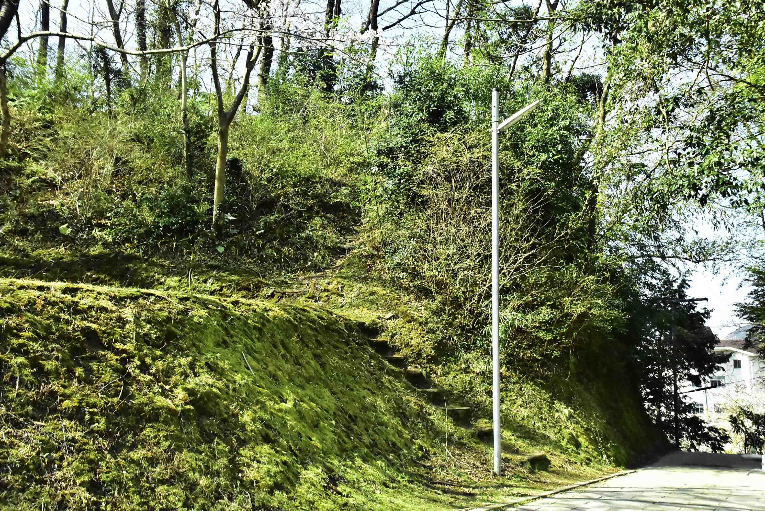 天ヶ岳砦 探索口