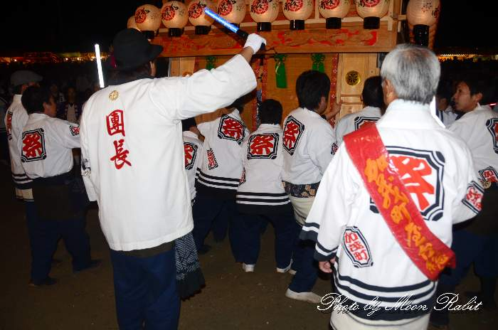 加茂町だんじり(屋台) 祭り装束