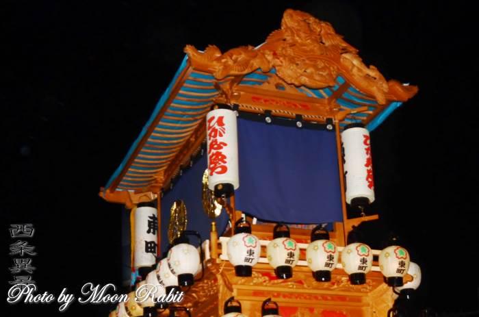東町だんじり(屋台) 祭り提灯