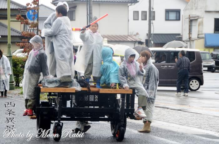 台車 上喜多川屋台(だんじり)