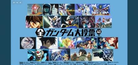 NHKが史上初の『全ガンダム大投票』を開催! 作品、キャラ、メカ、アニソン、4つのカテゴリー! 君は誰に投票する?