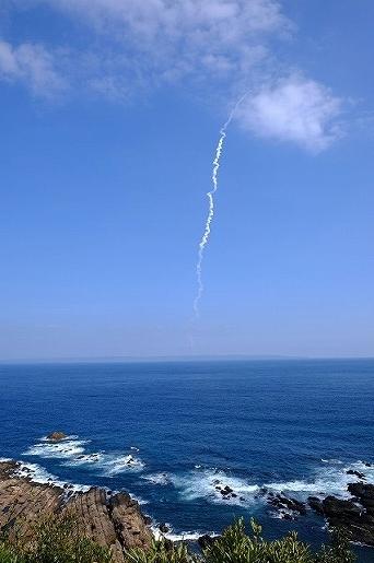 2月27日 ロケット打ち上げ