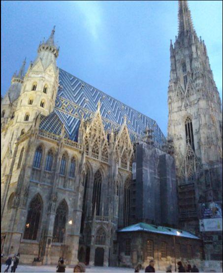 ウィーンの三大パワースポット シュテファン教会