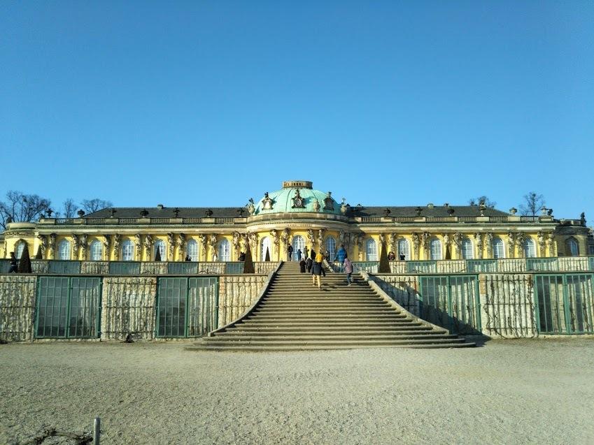 ポツダム、サンスーシ宮殿