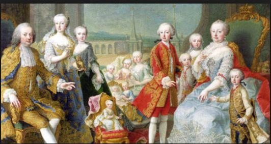 優れた政治家であるだけでなく、よき妻、肝っ玉母さんであったテレジア