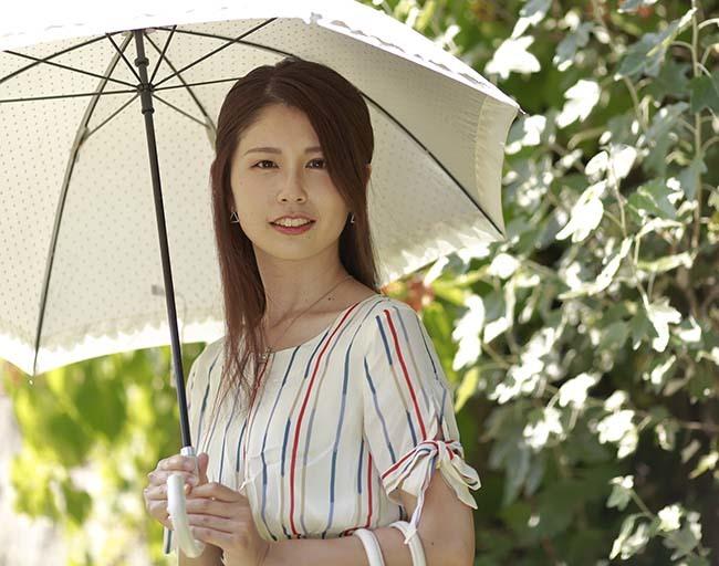 智美:日傘