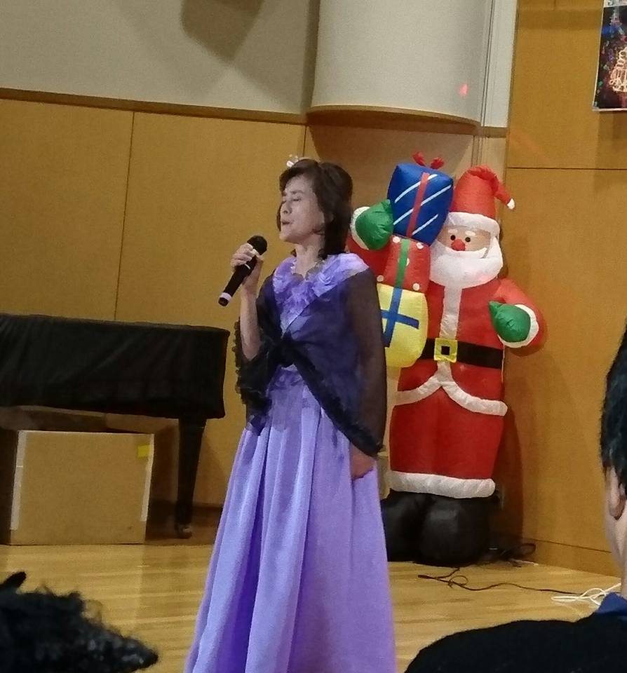 【大潟愛音の会・スナックシャンハイ共催Xmasチャリティーコンサート】-9