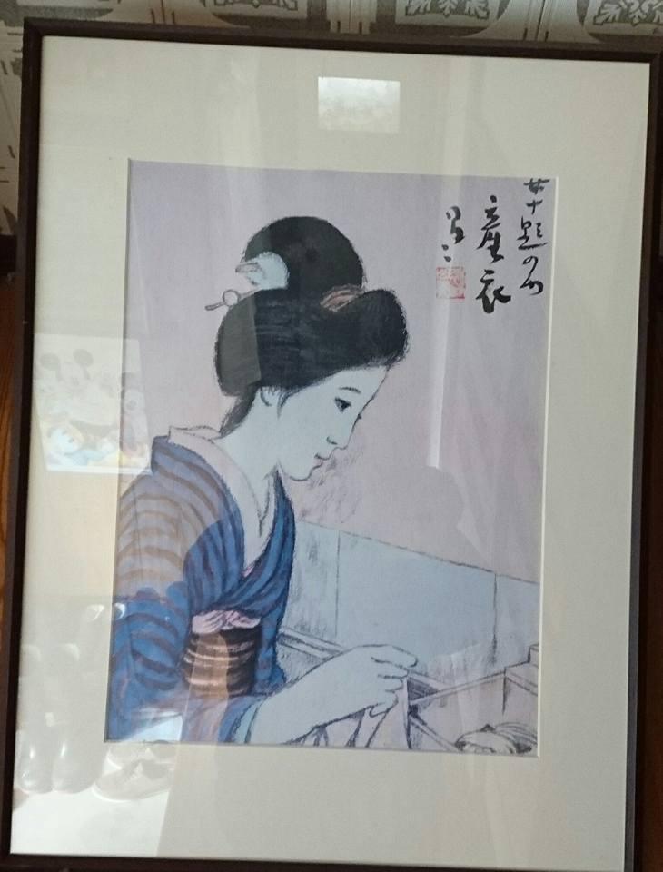 【玄関の絵画の架け替え】-5